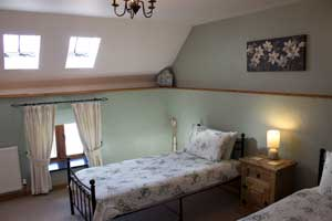 The Croft, Twin Bedroom